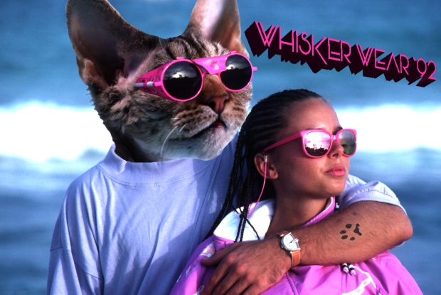 Ad for Whisker Wear Sunglasses, 1992