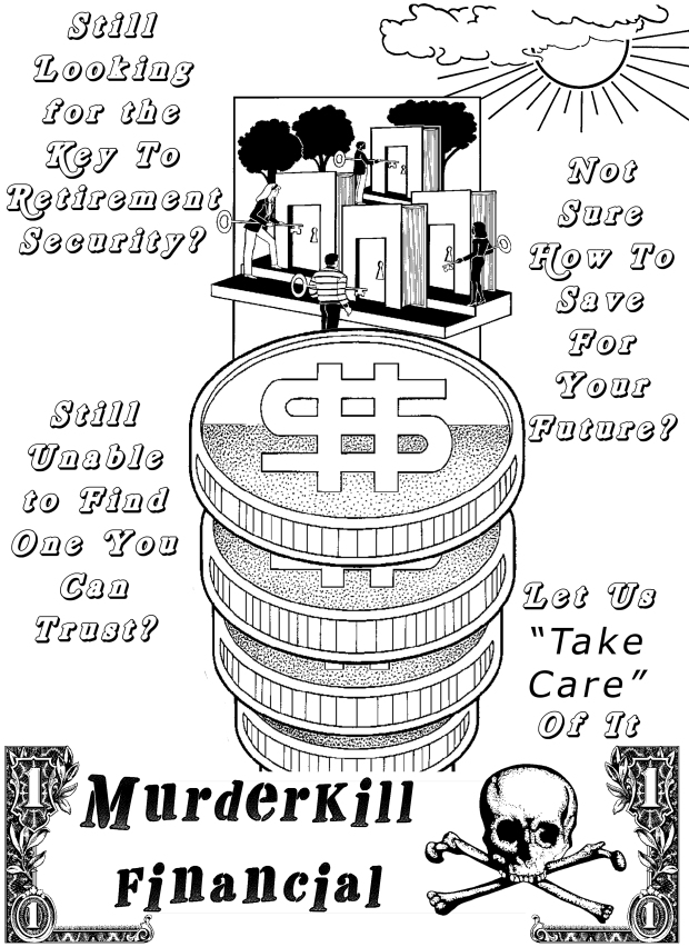 Murderkill Financial flier, 1991