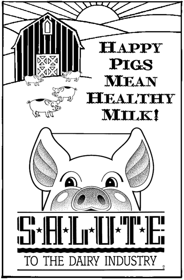 Dairy Industry Conference Flier, 1991